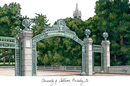 Campus Images CA945 University of California - Berkeley Campus Images Lithograph Print