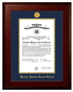 Campus Images CGCHO001 Patriot Frames Coast Guard 10x14 Certificate Honors Frame with Gold Medallion