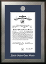 Campus Images CGCHO002 Patriot Frames Coast Guard 10x14 Certificate Honors Frame with Silver Medallion