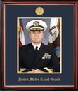 Campus Images CGPPT001 Patriot Frames Coast Guard 8x10 Portrait Petite Frame with Gold Medallion