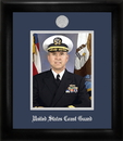 Campus Images CGPS002 Coast Guard Portrait Frame e Silver Medallion