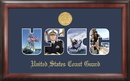 Campus Images CGSSG001 Coast Guard Collage Photo Frame Gold Medallion