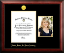 Campus Images CO994PGED-8511 United States Air Force Academy 8.5w x 11h Gold Embossed Diploma Frame with 5 x7 Portrait