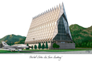 Campus Images CO994 United States Air Force Academy Campus Images Lithograph Print