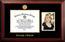Campus Images CO995PGED-1185 University of Colorado, Boulder 11w x 8.5h Gold Embossed Diploma Frame with 5 x7 Portrait
