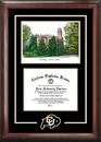 Campus Images CO995SG University of Colorado - Boulder Spirit  Graduate Frame with Campus Image