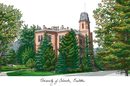 Campus Images CO995 University of Colorado - Boulder Campus Images Lithograph Print