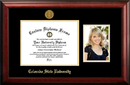 Campus Images CO999PGED-1185 Colorado State University 11w x 8.5h Gold Embossed Diploma Frame with 5 x7 Portrait