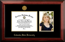 Campus Images CO999PGED-97 Colorado State University 9w x 7h Gold Embossed Diploma Frame with 5 x7 Portrait