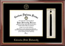 Campus Images CO999PMHGT Colorado State University Tassel Box and Diploma Frame