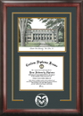 Campus Images CO999SG Colorado State University Spirit Graduate Frame with Campus Image