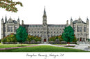 Campus Images DC996 Georgetown University Campus Images Lithograph Print
