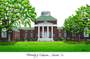 Campus Images DE999 University of Delaware Campus Images Lithograph Print