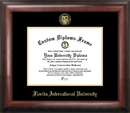 Campus Images FL984GED Florida International University Gold Embossed Diploma Frame