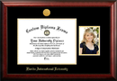 Campus Images FL984PGED-1411 Florida International University 14w x 11h Gold Embossed Diploma Frame with 5 x7 Portrait