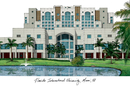 Campus Images FL984 Florida International University Campus Images Lithograph Print