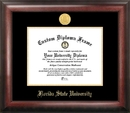 Campus Images FL985GED Florida State University Gold Embossed Diploma Frame