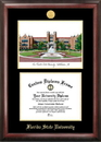 Campus Images FL985LGED Florida State University Gold embossed diploma frame with Campus Images lithograph