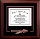Campus Images FL985SD Florida State University Spirit Diploma Frame