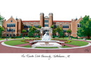 Campus Images FL985 Florida State University Campus Images Lithograph Print