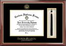Campus Images FL986PMHGT Florida Atlantic University Tassel Box and Diploma Frame