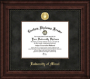 Campus Images FL988EXM University of Miami Executive Diploma Frame