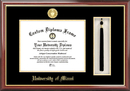 Campus Images FL988PMHGT University of Miami Tassel Box and Diploma Frame