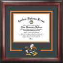 Campus Images FL988SD University of Miami Spirit Diploma Frame
