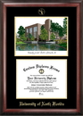Campus Images FL993LGED University of North Florida Gold embossed diploma frame with Campus Images lithograph