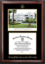 Campus Images FL995LGED Embry-Riddle University Gold embossed diploma frame with Campus Images lithograph
