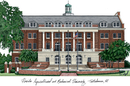 Campus Images FL997 Florida A&M University Campus Images Lithograph Print