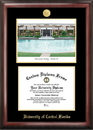 Campus Images FL998LGED University of Central Florida Gold embossed diploma frame with Campus Images lithograph