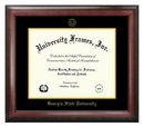 Campus Images GA973GED Georgia State University Gold Embossed Diploma Frame