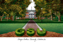 Campus Images GA975 Georgia Southern Campus Images Lithograph Print