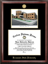 Campus Images GA986LGED Kennesaw State University Gold embossed diploma frame with Campus Images lithograph