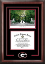 Campus Images GA987SG University of Georgia Spirit Graduate Frame with Campus Image