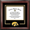 Campus Images IA995SD University of Iowa Spirit Diploma Frame