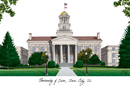 Campus Images IA995 University of Iowa Campus Images Lithograph Print