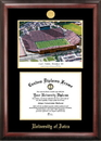 Campus Images IA997LGED University of Iowa  Kinnick Stadium Gold embossed diploma frame with Campus Images lithograph