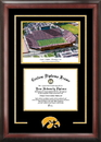 Campus Images IA997SG University of Iowa  Kinnick Stadium Spirit Graduate Frame with Campus Image