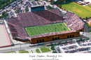 Campus Images IA997 University of Iowa: Kinnick Stadium Campus Images Lithograph Print