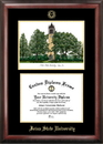 Campus Images IA998LGED Iowa State University Gold embossed diploma frame with Campus Images lithograph