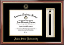 Campus Images IA998PMHGT Iowa State University Tassel Box and Diploma Frame