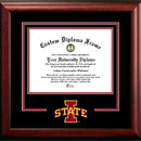 Campus Images IA998SD Iowa State Cyclones Spirit Diploma Frame