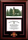 Campus Images IA998SG Iowa State University Spirit Graduate Frame with Campus Image