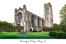 Campus Images IL968 University of Chicago Campus Images Lithograph Print