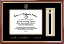 Campus Images IL970PMGHT Loyola University Chicago Tassel Box and Diploma Frame