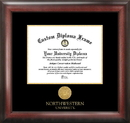 Campus Images IL971GED Northwestern  University Gold Embossed Diploma Frame