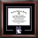 Campus Images IL971SD Northwestern  University Spirit Diploma Frame