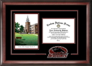 Campus Images IL972SG Southern Illinois  University Spirit Graduate Frame with Campus Image